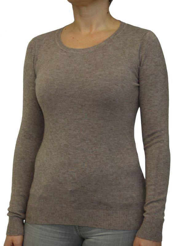 wholesale dealer f2eaa a154a Damen Pullover, kurz, Rundhalskragen, S/M, L/XL.