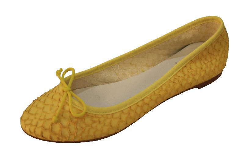 hot sales 2d157 caa17 OVYÈ Damen Python Ballerina Ballerinas Halbschuhe, Leder, beige, gelb,  grün, Gr. 36, 37, 38, 39, 40, Italy, neu.