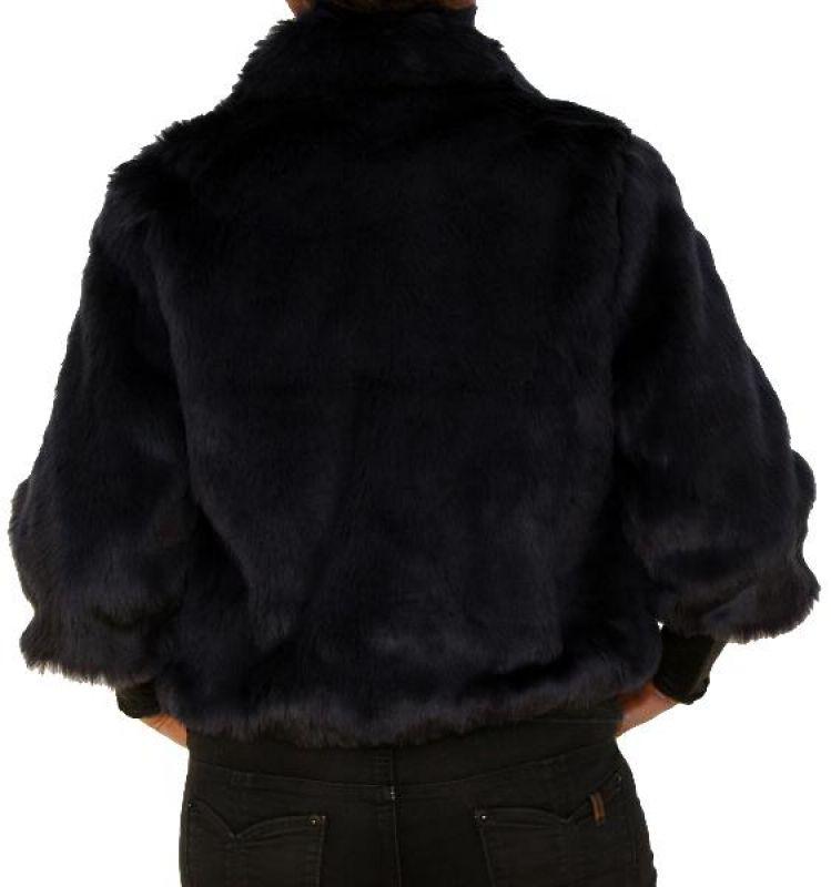 PERANO Damen Kunstfell Jacke, beige, weiss, dunkelblau, schwarz, one size, neu!!!