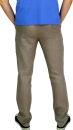 PERANO Herren, Jungen Slim Leinenhose, 100% Leinen, beige, braun, schwarz, weiss, Gr. M, L, XL, XXL, neu! hell braun L/52