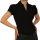 Damen Bluse, Bodybluse, Blusenbody, Kurzarm, einfarbig, pink, hellblau, weiß, schwarz.
