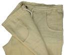 PERANO Herren, Jungen Hose, 100% Leinen, beige, blau, braun, grün, weiß, Gr. M, L, XL, XXL, neu! beige S