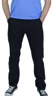 PERANO Herren, Jungen Slim Leinenhose, 100% Leinen, beige, braun, schwarz, weiss, Gr. M, L, XL, XXL, neu! schwarz S/48