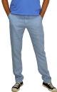 PERANO Herren, Jungen Slim Leinenhose, 100% Leinen, beige, braun, schwarz, weiss, Gr. M, L, XL, XXL, neu! hell blau M/50