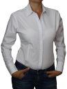 C&H Bodybluse,Blusenbody,langarm,weiß,schwarz,pink,rot,neu! weiß XL