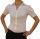 Damen Bodys Bodybluse, Blusenbody, kurzarm, weiß, schwarz, pink, rot, neu! weiß XL