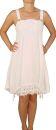 SAXX Damenkleid, 100% Leinen, Weiß XL