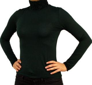 PERANO Damen Bluse, Shirt, langarm, Viskose, weiß, schwarz, blau, rot, braun, grün, grau, bordo, beige, neu. grün