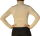 Damen Body Bluse, Bodyshirt, langarm, Rollkragen, grün, weiß, dunkelbraun, grau, rot, neu. weiß L
