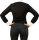 C&H Bodybluse, Blusenbody, langarm, schwarz/ weiß, weiß/schwarz, beige, S, M, L, XL, XXL, neu! schwarz/weiß L