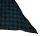 PERANO Damen Schal, Tuch, Stola, 30% Seide & 70% Baumwolle, 70X200, made in Italy, beige, blau, neu! blau-schwarz