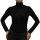 Damen Body Bluse, Bodyshirt, langarm, Rollkragen, Viskose, beige, schwarz, neu.