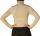 Damen Body Bluse, Bodyshirt, langarm, Rollkragen, Viskose, beige, schwarz, neu. beige XXL