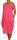 PERANO Damen Leinenkleid, A-Form, lang,  Gr. M, L, XL, XXL, neu! pink L