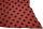 PERANO Damen Schal, Tuch, Stola, groß gepunktet, Baumwolle & Seide, 70X200, made in Italy, neu! lachsrot-blau