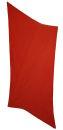 PERANO Damen Schal, Tuch, Stola, groß gepunktet, Baumwolle & Seide, 70X200, made in Italy, neu! orange-weiß